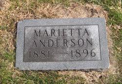 Marietta Anderson