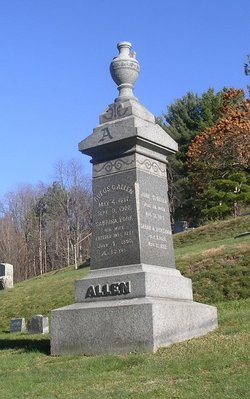 Hannah A. <i>Sanders</i> Allen
