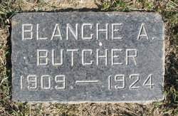 Blanche A Butcher