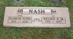 Weldon W Nash, Sr