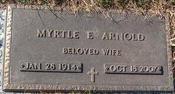 Myrtle E <i>Lee</i> Arnold