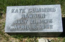 Kate <i>Cummins</i> Rawson