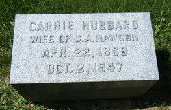 Carrie Lillian <i>Hubbard</i> Rawson