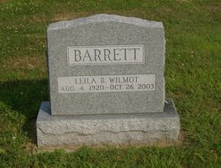 Leila Roxanna <i>Wilmot</i> Barrett