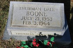 Thurman Dale Boone