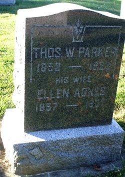 Ellen Agnes Aggie <i>Sullivan</i> Parker