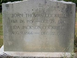 Ida Jackson <i>Utterback</i> Cockrill