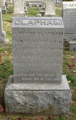 J Henry Clapham