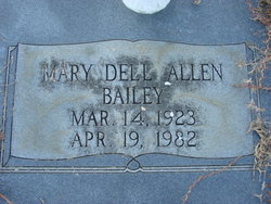 Mary Dell <i>Allen</i> Bailey