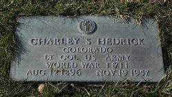 LTC Charles Smith Charley Hedrick, Jr