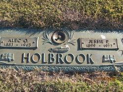 Jessie Elizabeth <i>Pendley</i> Holbrook