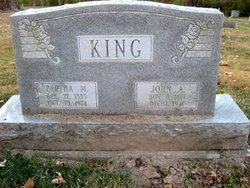 John A King