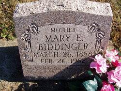 Mary Ellen <i>Brotherton</i> Biddinger
