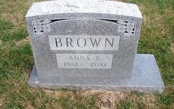 Anna B Brown