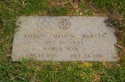Emmett Melvin Barker