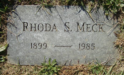 Rhoda <i>Spangler</i> Meck