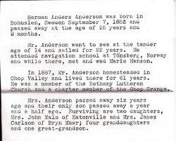 Herman Anders Anderson