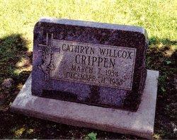Cathryn Gail <i>Willcox</i> Crippen