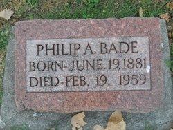 Philip A Bade