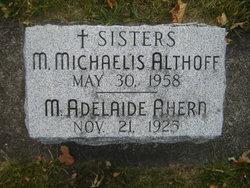 Sr M Adelaide Ahern