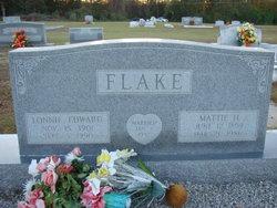 Mattie Bell <i>Hunnicutt</i> Flake