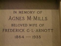 Agnes M. <i>Mils</i> Arnott