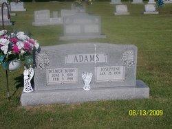 Delmer Buddy Adams