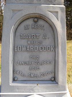 Mary Ann <i>Ennis</i> Cook