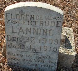 Florence Gertrude Lanning