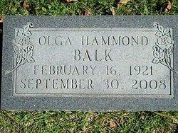 Olga <i>Hammond</i> Balk