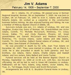 Jim V. Adams