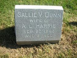 Sallie V <i>Dunn</i> Harris