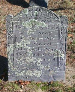 Mrs. Anna Chamberlain