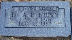 Lula Frances <i>Williamson</i> Brown