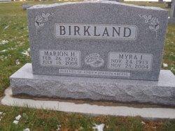 Marion H. Birkland
