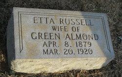 Etta <i>Russell</i> Almond