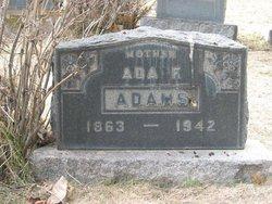 Ada Florence <i>Martin</i> Adams