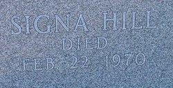 Signa <i>Hill</i> Powell