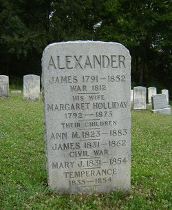 Margaret <i>Holliday</i> Alexander