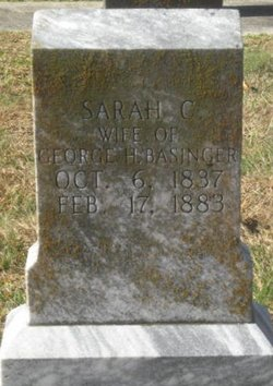 Sarah Catherine <i>Overcash</i> Basinger