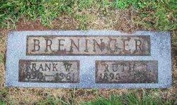 Ruth Rebecca <i>Moberly</i> Breninger