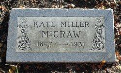 Kate <i>Miller</i> McCraw
