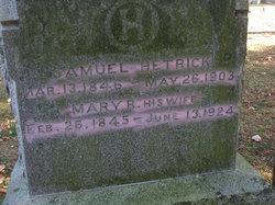 Mary Rosella <i>Dunbar</i> Hetrick