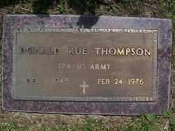 Donald Rue Thompson