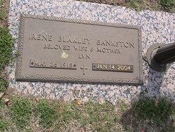 Irene <i>Blakley</i> Bankston
