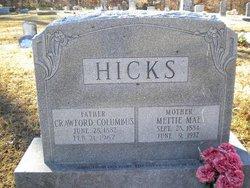 Mettie Mae Hicks