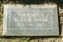 Alice Wilda <i>McLaughlin</i> Doran
