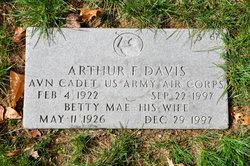 Arthur F Davis