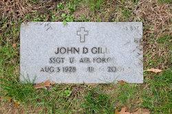 John D Gill