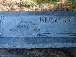 Mary Olive <i>Taylor</i> Beckner